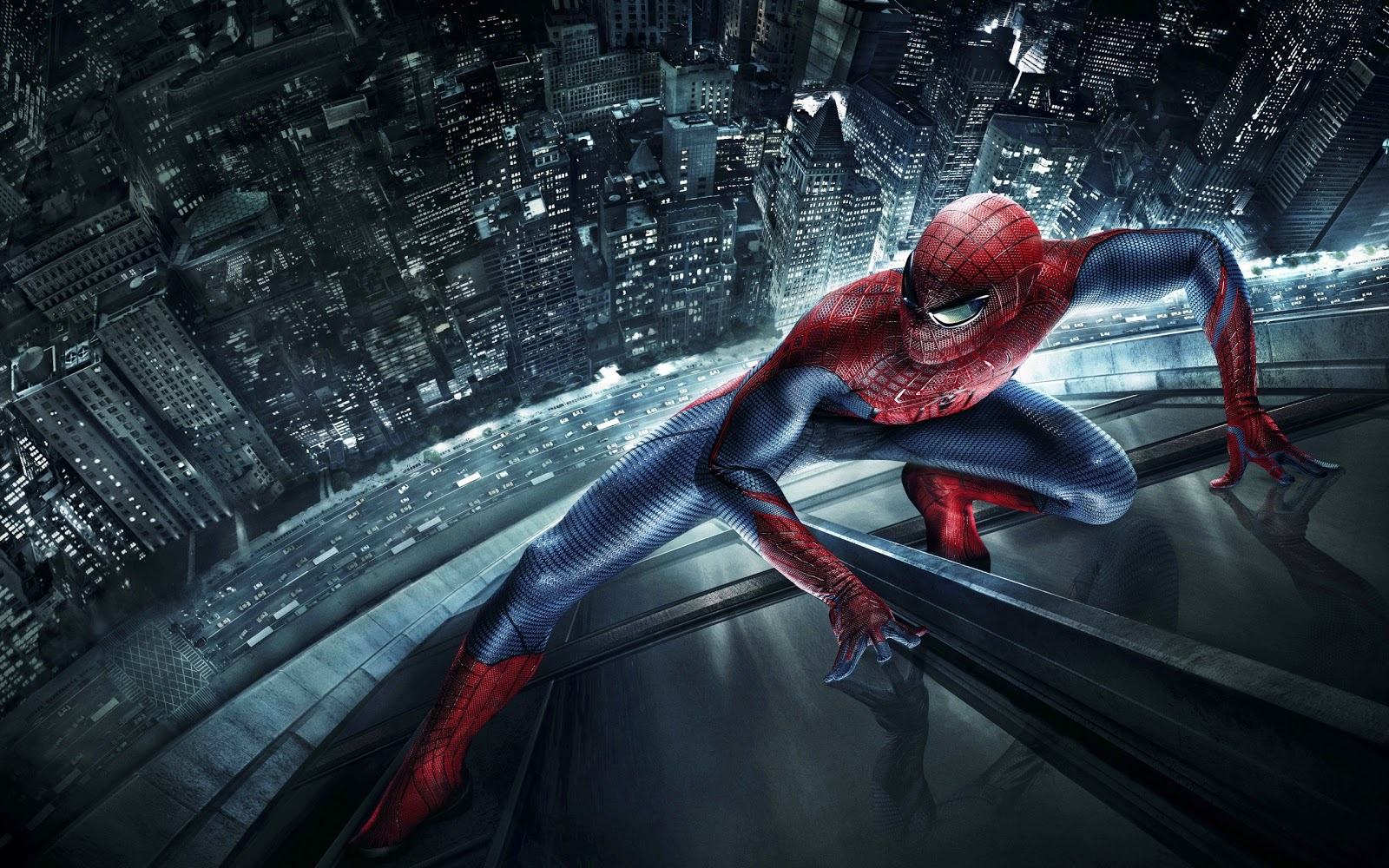 spiderman glass