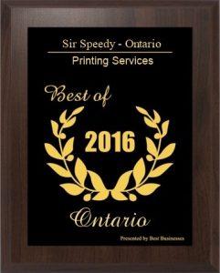 Best of Ontario 2016